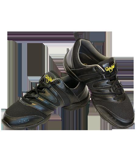 97076c9dd2f TANEČNÍ BOTY Sneakers Grishko nízké černé empty